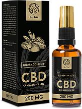 Voňavky, Parfémy, kozmetika Prírodný jojobový olej CBD 250mg - Dr. T&J Bio Oil