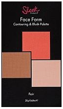 Voňavky, Parfémy, kozmetika Paleta na kontúrovanie tváre - Sleek Makeup Face Form Ultimate Contour Kit Fair