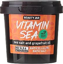 """Voňavky, Parfémy, kozmetika Anticelulitídová soľ do kúpeľa """"Vitamin Sea"""" - Beauty Jar Anticellulite Bath Salt"""