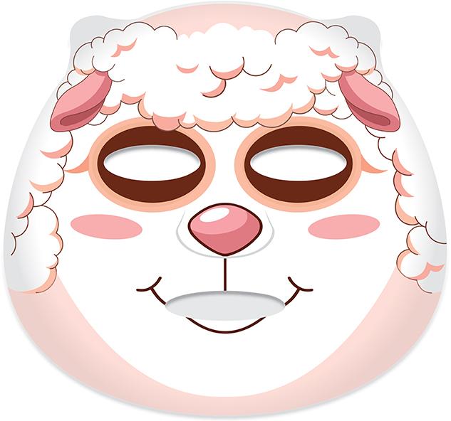 """Látková maska na tvár """"Ovečka"""" - Belleza Castillo Edge Cutimal Sheep Anti-Wrinkle Mask — Obrázky N2"""