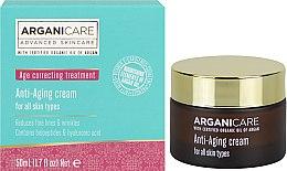 Voňavky, Parfémy, kozmetika Spevňujúci krém proti vráskam - Arganicare Shea Butter Anti Aging Cream