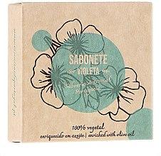 """Voňavky, Parfémy, kozmetika Prírodné mydlo """"Fialová"""" - Essencias De Portugal Senses Violet Soap With Olive Oil"""