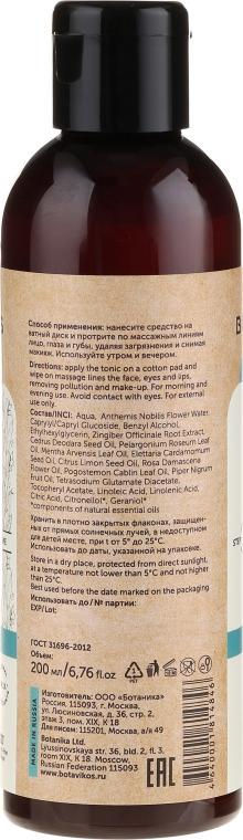 Micelárny vyrovnávajuci tonikum pre mastnú a problémovú pleť - Botavikos — Obrázky N2