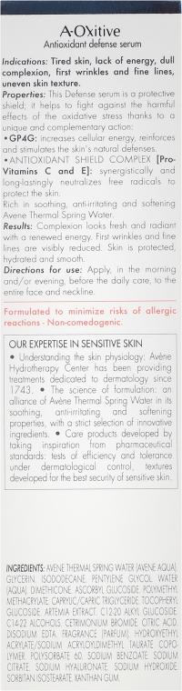 Sérum na tvár - Avene A-Oxitive Antioxidant Defense Serum Sensitive Skins — Obrázky N3
