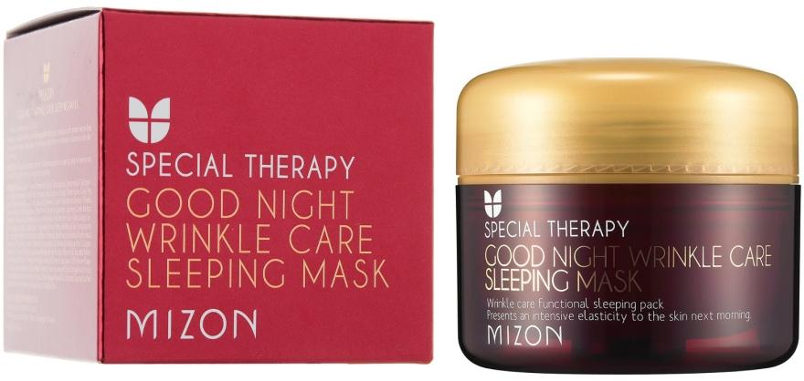 Retinolová výživná nočná maska proti vráskam - Mizon Good Night Wrinkle Care Sleeping Mask