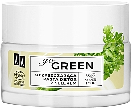 Voňavky, Parfémy, kozmetika Čistiaca detoxikačná pasta so zelerom - AA Go Green