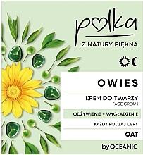 Voňavky, Parfémy, kozmetika Výživný krém na tvár - Polka Oat Face Cream