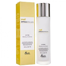 Voňavky, Parfémy, kozmetika Hydratačná emulzia so slimačím mucínom - Ekel Snail Ampoule Emulsion