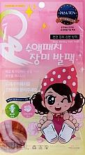 Voňavky, Parfémy, kozmetika Detoxikačné výživné náplasti na chodidlá - Pilaten Nursing Rose Foot Patch