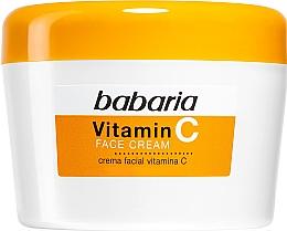 Voňavky, Parfémy, kozmetika Krém na tvár s vitamínom C - Babaria Vitamin C Face Cream