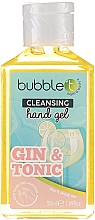 "Voňavky, Parfémy, kozmetika Antibakteriálny čistiaci gél na ruky ""Gin a tonik"" - Bubble T Cleansing Hand Gel Gin & Tonic"
