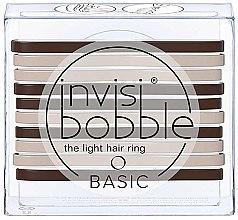 Voňavky, Parfémy, kozmetika Sada vlasových gumičiek - Invisibobble Basic Mocca & Cream
