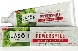 Voňavky, Parfémy, kozmetika Bieliaca zubná pasta - Jason Natural Cosmetics PowerSmile All Natural Whitening Toothpaste