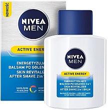 "Balzam po holení dvojitá akcia ""Energetický poplatok"" - Nivea For Men Active Energy Skin Revitalizer After Shave Balm — Obrázky N1"
