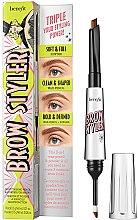 Voňavky, Parfémy, kozmetika Ceruzka a tiene na obočie 2v1 - Brow Styler Eyebrow Pencil & Powder Duo