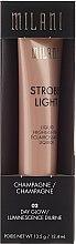 Voňavky, Parfémy, kozmetika Krémový rozjasňovač na tvár - Milani Strobe Light Liquid Highlighter