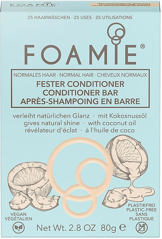 Tuhý kondicionér na vlasy - Foamie Conditioner Bar with Coconut Oil — Obrázky N2