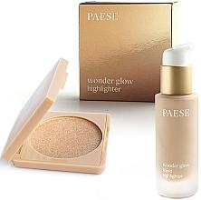 Voňavky, Parfémy, kozmetika Sada - Paese Wonder Glow Highlighter (highlighter/7,5g+highlighter/20ml)