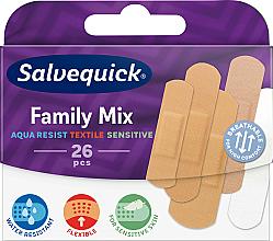 Voňavky, Parfémy, kozmetika Rodinná sada náplastí - Salvequick Family Mix