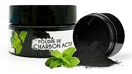 "Voňavky, Parfémy, kozmetika Bieliaci prášok ""Mäta"" - Keeth Mint-flavoured Activated Charcoal Bleaching Powder"