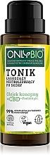 Voňavky, Parfémy, kozmetika Upokojujúce tonikum na neutralizáciu pH pokožky - Only Bio
