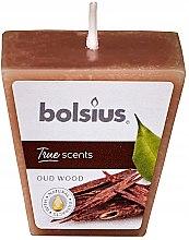 """Voňavky, Parfémy, kozmetika Vonná sviečka """"Agarový strom"""", 47/47 mm - Bolsius True Scents Candle"""