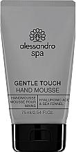 Voňavky, Parfémy, kozmetika Mušt na ruky - Alessandro International Spa Gentle Touch Hand Mousse