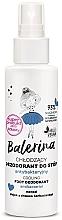 Voňavky, Parfémy, kozmetika Antibakteriálny dezodorant na nohy - Floslek Balerina Cooling Foot Deodorant Antibacterial