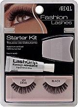 Voňavky, Parfémy, kozmetika Sada - Ardell Fashion Lashes Starter Kit Demi Black 101