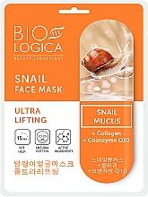 """Voňavky, Parfémy, kozmetika Maska """"Ultra lifting"""" so slimačím mucínom - Biologica Snail"""