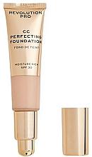 Voňavky, Parfémy, kozmetika CC krém - Revolution Pro CC Cream Perfecting Foundation SPF 30