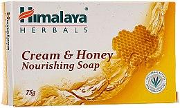 Voňavky, Parfémy, kozmetika Výživné mydlo medovo-slivkové pre normálnu a suchú pleť - Himalaya Herbals Cream Honey Soap