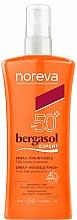 Voňavky, Parfémy, kozmetika Opaľovací sprej - Noreva Bergasol Expert Spray Invisible Finish SPF50+