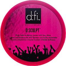 Voňavky, Parfémy, kozmetika Krémový vosk na vlasy - D:fi d:sculpt High Hold Low Shine Hair Sculptor