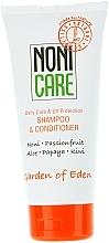 Voňavky, Parfémy, kozmetika Hydratačný šampón a kondicionér - Nonicare Garden Of Eden Shampoo & Conditioner