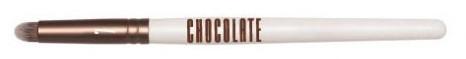 Štetec rozptyľovač pre pigmenty a tiene - Novara Chocolate No. 7 Taklon Diffuser Brush — Obrázky N1