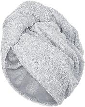 Voňavky, Parfémy, kozmetika Uterák-turban na vlasy, šedý - MakeUp