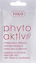 Voňavky, Parfémy, kozmetika Maska pre tvár PhytoAktiv - Ziaja Face Mask