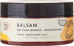 """Voňavky, Parfémy, kozmetika Balzam na telo """"Mango a mandarínka"""" - Nature Queen Body Balm"""