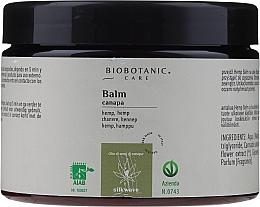 Voňavky, Parfémy, kozmetika Balzam na vlasy s konopným olejom - BioBotanic Silk Wave Hemp Balm