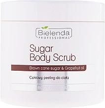 Voňavky, Parfémy, kozmetika Cukorový telový peeling - Bielenda Professional Body Program Sugar Body Scrub