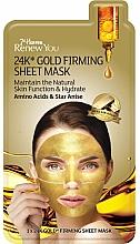 Voňavky, Parfémy, kozmetika Textilná spevňujúca maska na tvár so zlatom - 7th Heaven Renew You 24K Gold Firming Sheet Mask