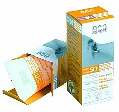 Voňavky, Parfémy, kozmetika Opaľovací krém SPF 50 s extraktom z granátového jablka a rakytníka - Eco Cosmetics Suntan Cream SPF 50+