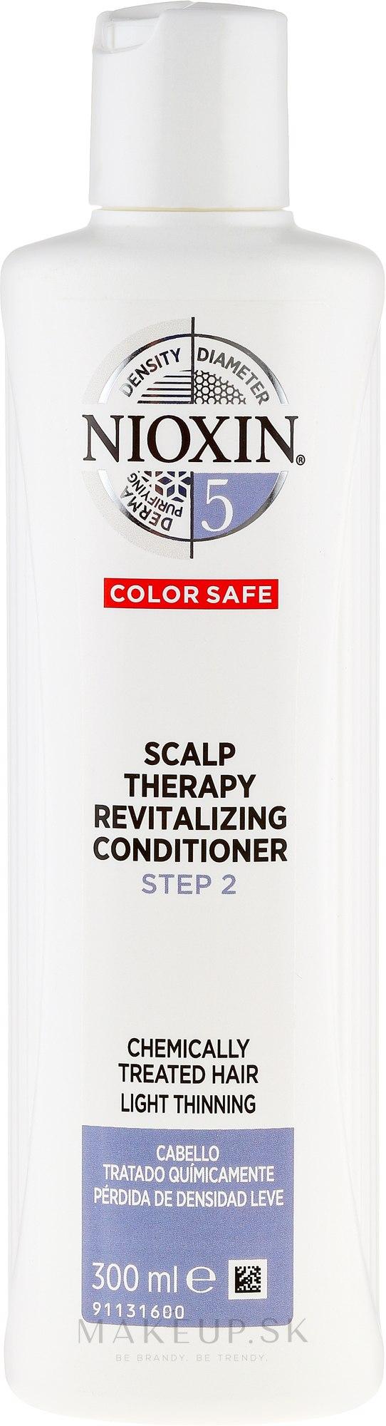 Kondicionér na farbené vlasy - Nioxin '5' Scalp Therapy Revitalising Conditioner — Obrázky 300 ml