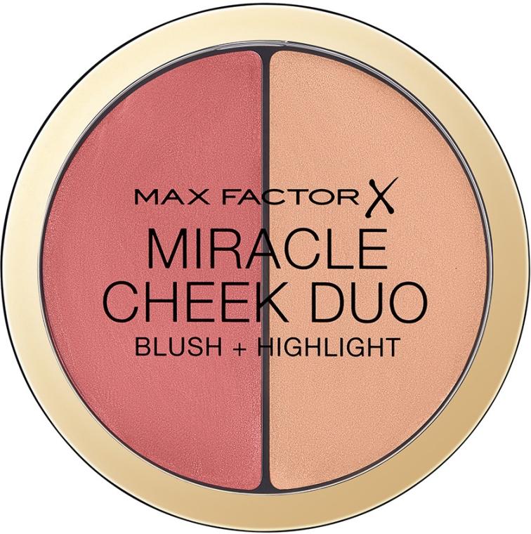 Paleta pre kontúrovanie tváre - Max Factor Miracle Cheeck Duo