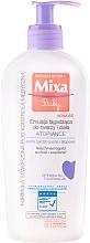 Voňavky, Parfémy, kozmetika Upokojujúce telové mlieko - Mixa Baby Atopiance