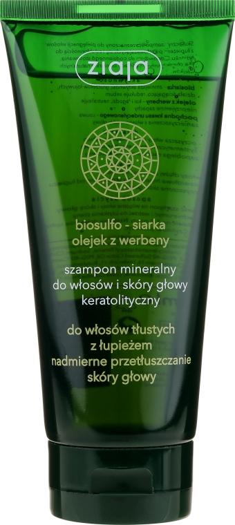 Keratolytický minerálny šampón - Ziaja Shampoo