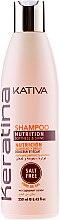 Voňavky, Parfémy, kozmetika Keratínový spevňujúci šampón pre všetky typy vlasov - Kativa Keratina Shampoo
