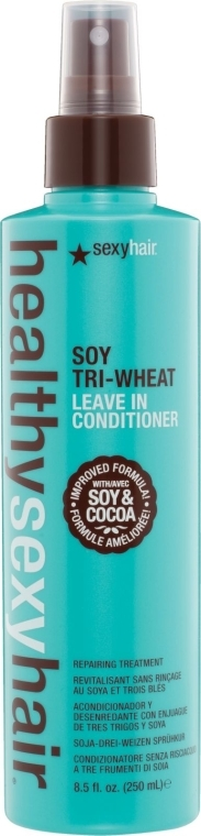 Bezoplachový sójový kondicionér - SexyHair HealthySexyHair Soy Tri-Wheat Leave-In Conditioner — Obrázky N1