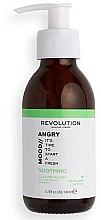 Voňavky, Parfémy, kozmetika Čistiaci gél na tvár - Revolution Skincare Angry Mood Soothing Cleansing Gel